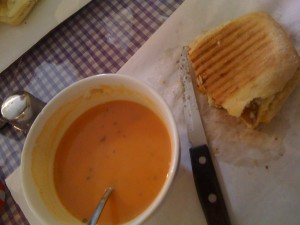 Buchetto Panini and Soup